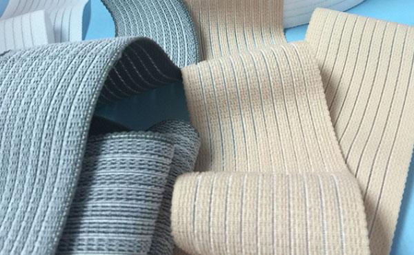 Tejidos elásticos para muñequeras, coderas y tobilleras