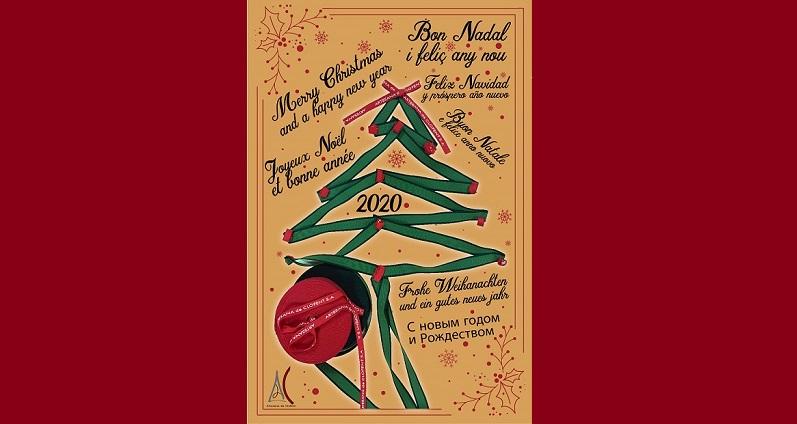 Postal Navidad Artesana de Clofent